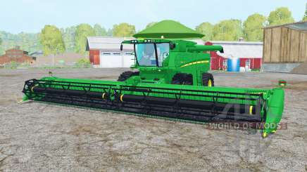 John Deere S680 pantone green for Farming Simulator 2015