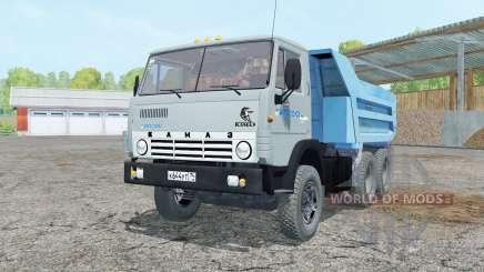 KamAZ-55111 grayish-blue color for Farming Simulator 2015