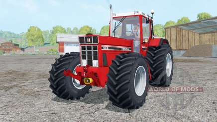 International 1455 XL Continental tires for Farming Simulator 2015