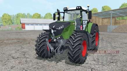 Fendt 1050 Vario mughal green for Farming Simulator 2015