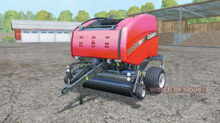 Case IH RB 465 light brilliant red for Farming Simulator 2015