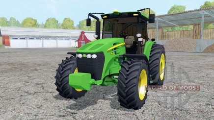 John Deere 7195J vivid malachite for Farming Simulator 2015