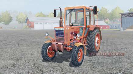 MTZ-80, Belarus is moderately red for Farming Simulator 2013
