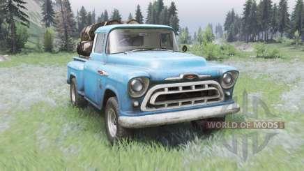 Chevrolet 3100 Stepside 1957 for Spin Tires