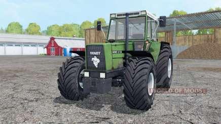 Fendt Favorit 611 LSA Turbomatik aqua forest for Farming Simulator 2015