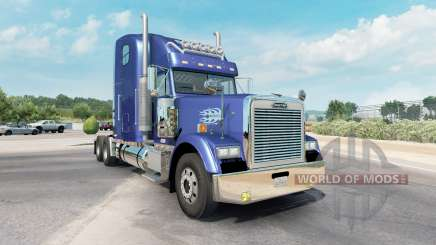 Freightliner Classic XL moderate blue for American Truck Simulator
