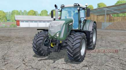 Fendt 933 Vario dark lime green for Farming Simulator 2015