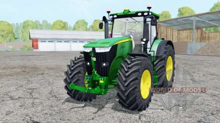 John Deere 7310R extra weights for Farming Simulator 2015