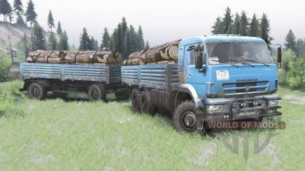 KamAZ-43118-24 2010 for Spin Tires