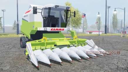 Claas Mega 370 TerraTrac moderate green for Farming Simulator 2013