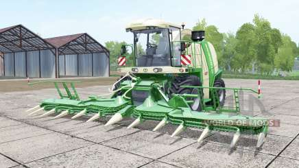Krone BiG X 750 pantone green for Farming Simulator 2017