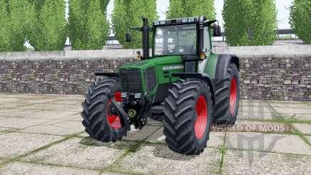 Fendt Favorit 824 dark lime green for Farming Simulator 2017