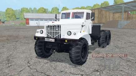 KrAZ-258 white color for Farming Simulator 2015