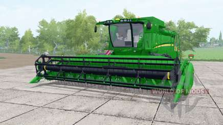 John Deere S650 dual front wheels for Farming Simulator 2017