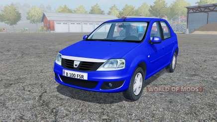 Dacia Logan 1.6 MPI 2008 for Farming Simulator 2013