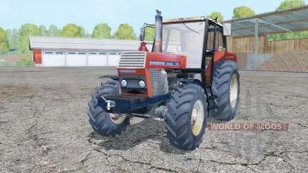 Ursus 1214 manual ignition for Farming Simulator 2015