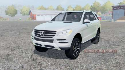 Mercedes-Benz ML 350 (W166) 2011 for Farming Simulator 2013