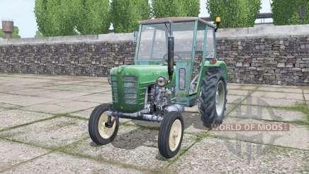 Ursus C-4011 green cyan for Farming Simulator 2017