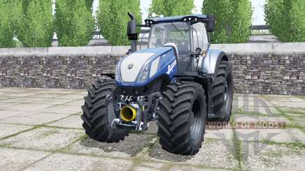 New Holland T7.315 chip tuning for Farming Simulator 2017