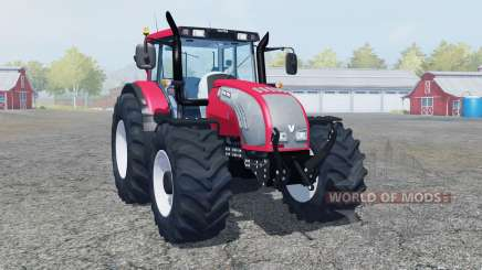 Valtra T182 bright red color for Farming Simulator 2013