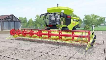 Claas Lexion 780 inch worm for Farming Simulator 2017