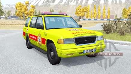 Gavril Roamer Soccorso Alpino v1.2 for BeamNG Drive