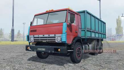 KamAZ 53212 moderately red for Farming Simulator 2013