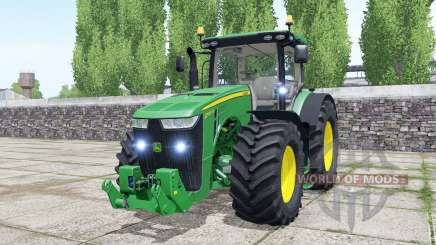 John Deere 8370R spanish green for Farming Simulator 2017
