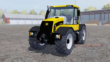 JCB Fastrac 3185 yellow for Farming Simulator 2013