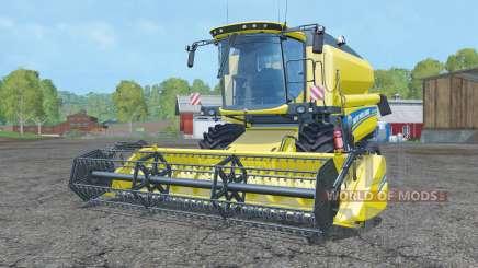 New Holland TC5.90 pure yellow for Farming Simulator 2015