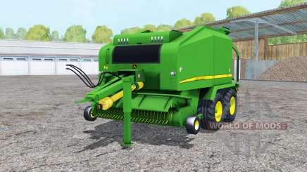 John Deere 678 wrapper for Farming Simulator 2015