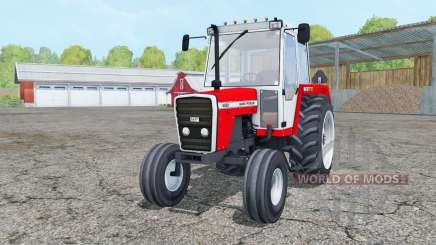 Massey Ferguson 698 red and white for Farming Simulator 2015