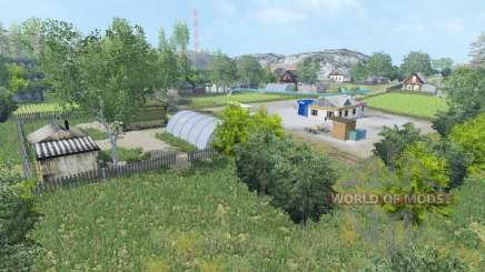 Pad ' Melnichnaya v1.5 for Farming Simulator 2015