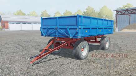 Fortschritt HL 80.11 rich electric blue for Farming Simulator 2013