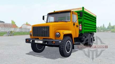 GAZ SAZ 35071 orange jrhfc for Farming Simulator 2017