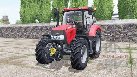 Case IH Maxxum 110 CVX light brilliant red for Farming Simulator 2017