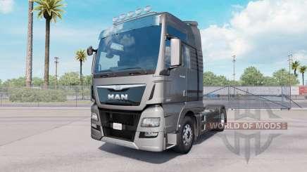 MAN TGX 18.640 XXL cab 2016 for American Truck Simulator