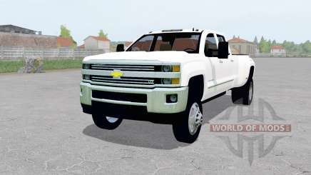 Chevrolet Silverado 3500 Crew Cab (GMTK2H) for Farming Simulator 2017