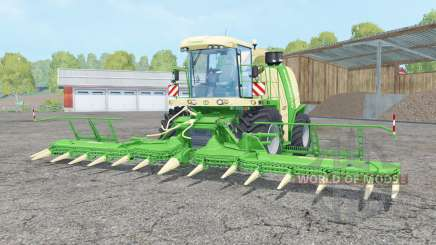 Krone BiG X 1100 lime green for Farming Simulator 2015