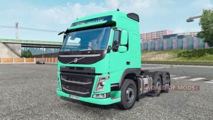 Volvo FM 500 6x2 Globetrotter cab 2013 for Euro Truck Simulator 2