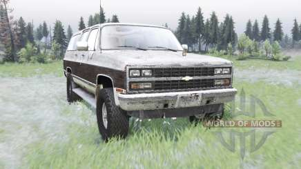 Chevrolet K1500 Suburban 1989 for Spin Tires