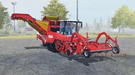 Grimme Tectron 415 carmine pink for Farming Simulator 2013