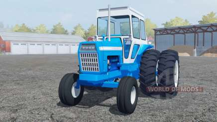 Ford 8000 pure cyan for Farming Simulator 2013