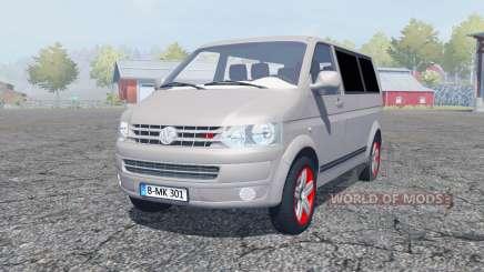 Volkswagen Caravelle TDI (T5) 2009 for Farming Simulator 2013
