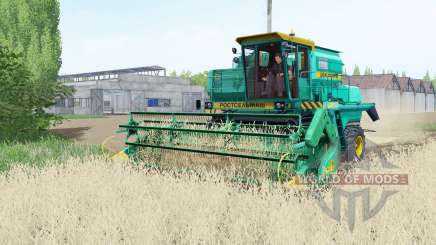 Don 1500B turquoise color for Farming Simulator 2017