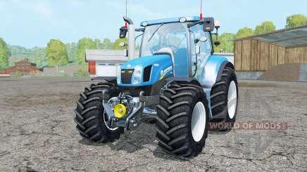 New Holland T6.160 added wheels for Farming Simulator 2015
