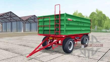 Warfama T-670 lime green for Farming Simulator 2017