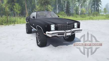 Chevrolet Monte Carlo 1977 lifted for MudRunner