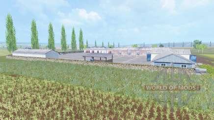 Poltava valley for Farming Simulator 2015