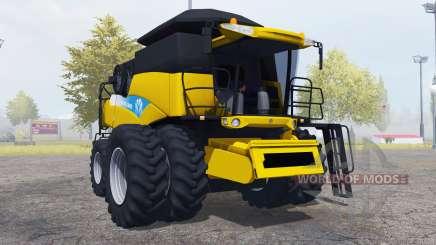 New Holland CR9090 yellow for Farming Simulator 2013